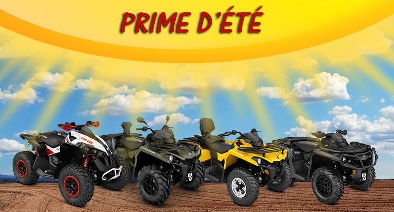 Can-Am ATV prime d'été