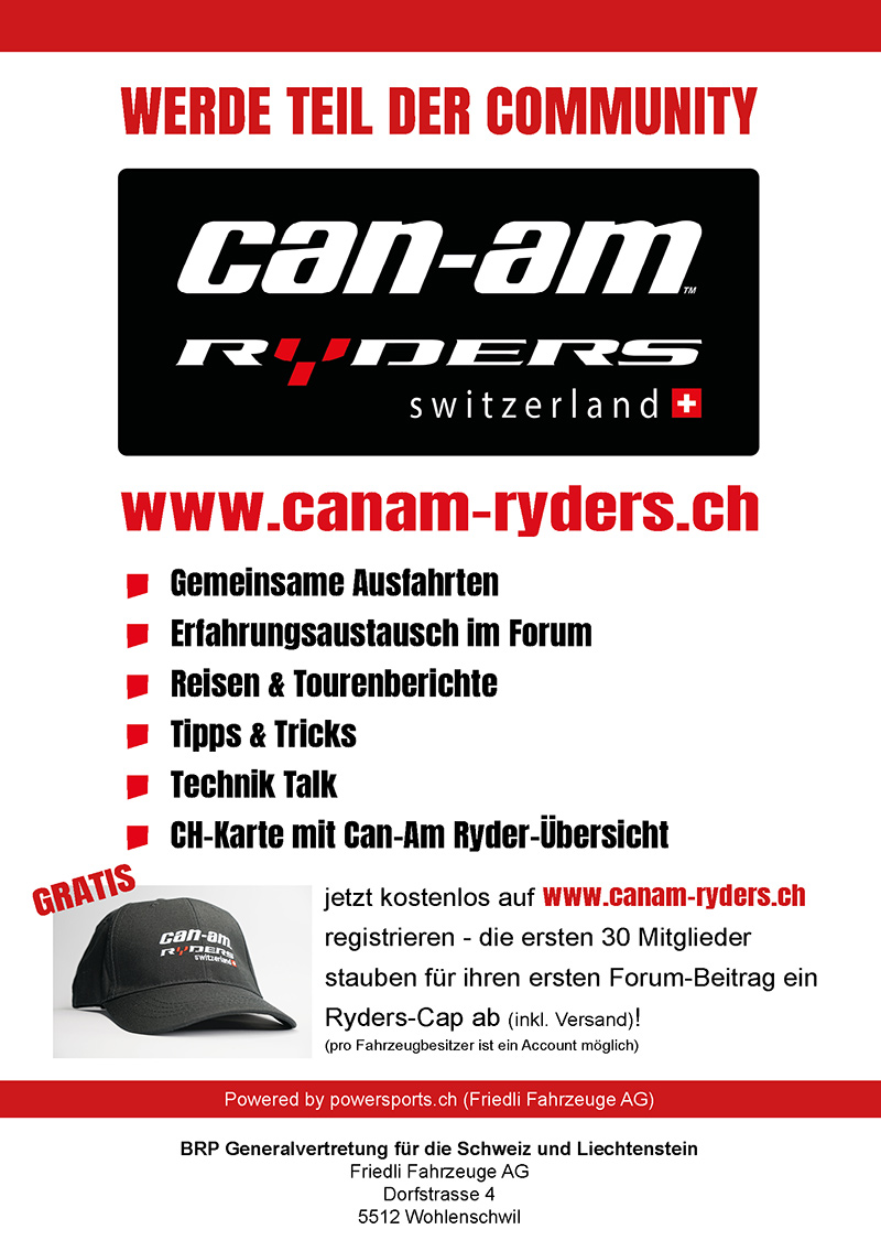 Can-Am Ryders Switzerland