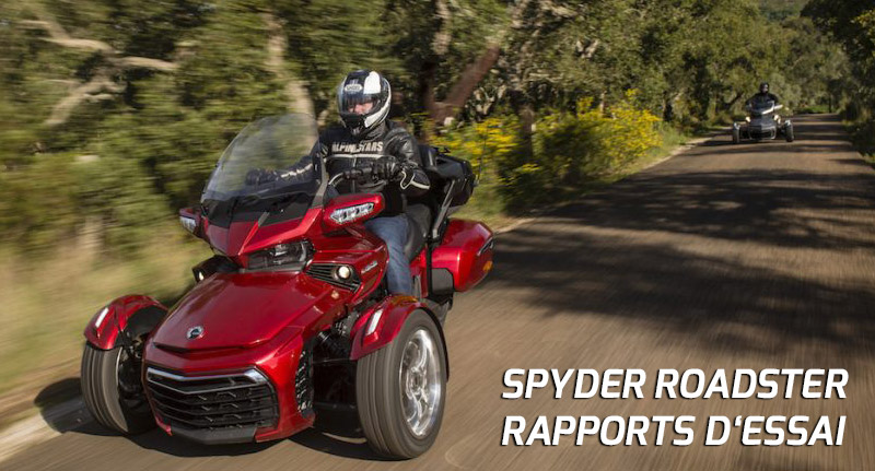 spyder roadster rapports dessai
