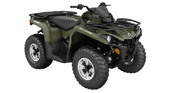 ATV Quad Can-Am Outlander 570 Utility DPS