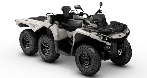 ATV Quad Outlander 6x6 650 DPS T3