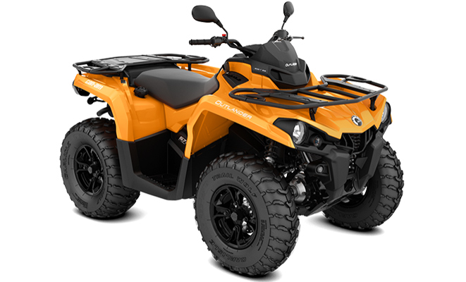 canam atv quad outlander 570 studiobild