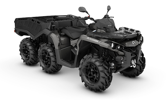 canam outlander 6x6 1000 pro side wall