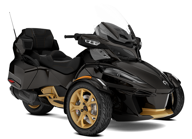 canam spyder rt ltd 10th anniversary