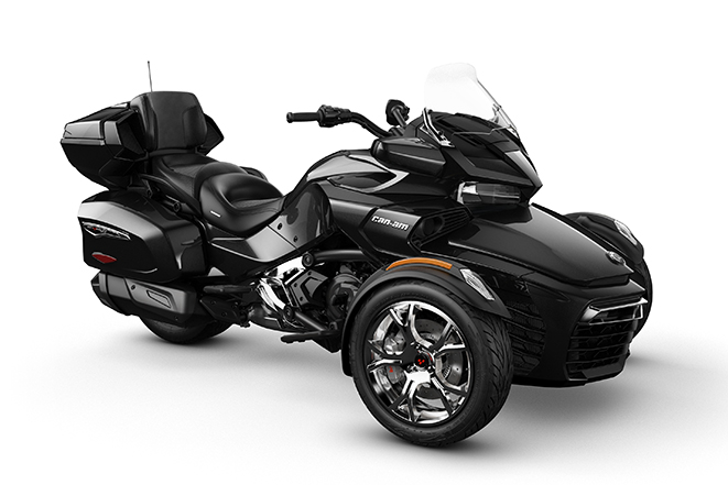 canam spyder f3 limited chrome steel black metallic 2019