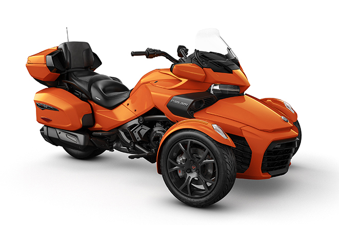 canam spyder f3 limited dark phoenix orange metallic 2019