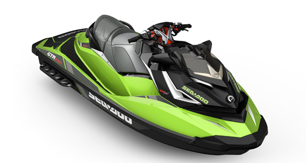 Sea Doo GTR X 230 MY17 California Green Metallic Black