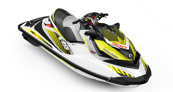 Sea Doo RXP X 300 MY17 White Dayglow Yellow