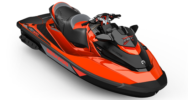 Sea Doo RXT X 300 MY17 Lava Red Monolith Black Satin