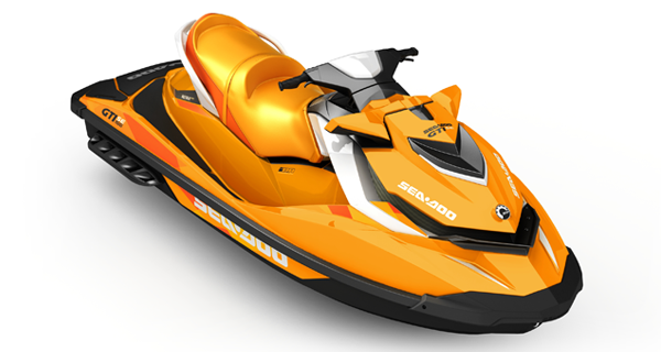 Sea Doo GTI SE 155 MY17 Orange White