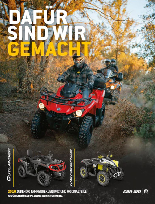 atv quad kataloge von line up zubeh r und bekleidung. Black Bedroom Furniture Sets. Home Design Ideas