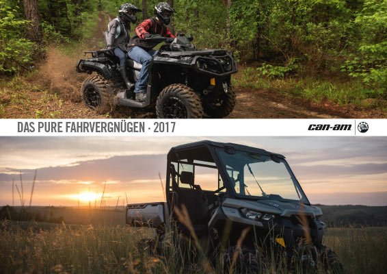 DE MY17 Can Am ATV SSV Katalog